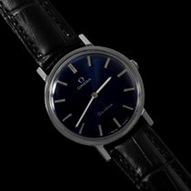 Omega 1974 Geneve Vintage Mens Midsize Handwound Ultra Thin Dress