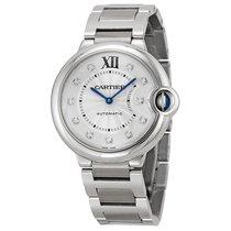 Cartier Unisex WE902075 Ballon Bleu Silver Diamond Watch