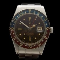 Rolex GMT-Master Bakelite Pepsi Tropical Dial No Crown Guard...
