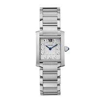 Cartier Tank Francaise Quartz Ladies Watch Ref WE110006