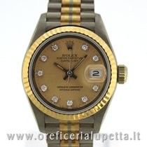 Rolex Datejust Lady Tridor Diamond Dial 69179 B