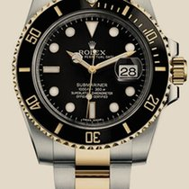 Rolex Oyster Submariner Date 40mm Steel and Yellow Gold