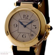 Cartier Pasha 38mm Automatic Ref-2685 18k Yellow Gold Papers...