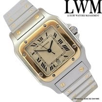 Cartier Santos XL Galbee 187901 steel gold quartz Full Set 1997