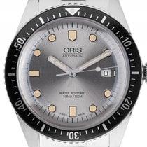 Oris Divers Sixty-Five Stahl Automatik Armband Stahl 42mm...