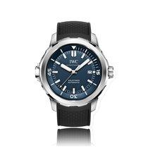 IWC Schaffhausen Aquatimer Automatic Stainless Steel Blue Dial...