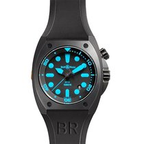 Bell & Ross BR02-92Blue BR 02-92 Automatic in Steel - on...