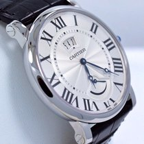 Cartier Rotonde W1556369 40mm Silver Dial Automatic Watch...