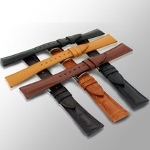 ABP Paris calf & alligator leather watch strap straps...