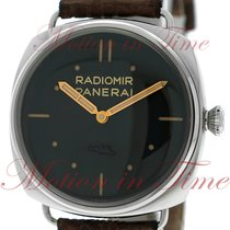 Panerai Radiomir S.L.C. 3 Days Acciaio, Black Dial, Limited...