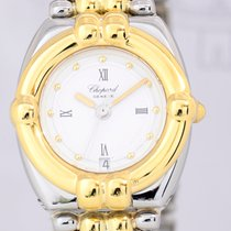 Chopard Gstaad Ladies Luxus Uhr Stahl/ Gold Top Klassiker