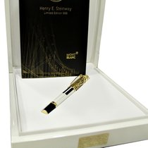 Montblanc Henry E. Steinway 888 Fountain Pen, Gold 18kt