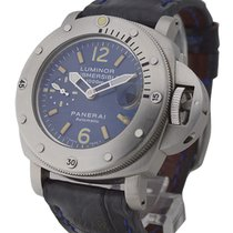 Panerai PAM00087 PAM 87 - Luminor Submersible 1000m - Blue...