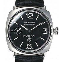 Panerai Radiomir Black Seal Logo 45mm Stainless Steel PAM00380