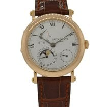 파텍필립 (Patek Philippe) Power Reserve Moonphase 18kt Rose Gold...