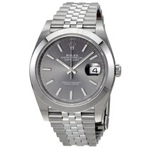 Rolex Datejust 41, Ref. 126300 - dark rhodium Index ZB/Jubilee...