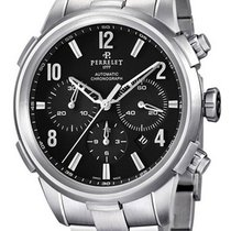 Perrelet A1069/B Class-T Chronograph Mens Automatic in Steel -...