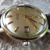 Omega Seamaster DeVille automatic 562 inox gold capped