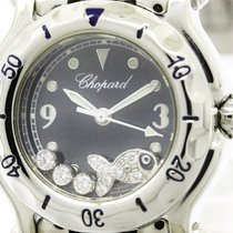ショパール (Chopard) Happy Sport Fish Diamond Quartz Ladies Watch...