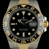 Rolex S/G Unworn Black Ceramic Bezel GMT-Master II B&P...
