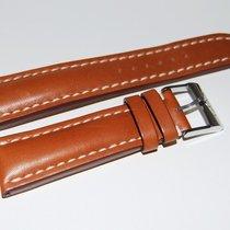 Breitling Kalbslederband mit Dornschliesse Braun 24-20 mm
