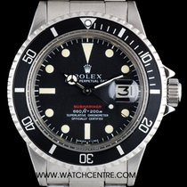 Rolex S/S O/P Red Writing Mark IV Submariner Date Vintage...