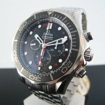 Omega Seamaster Diver 300 M Co-Axial GMT Chrono 212.30.44.5201...