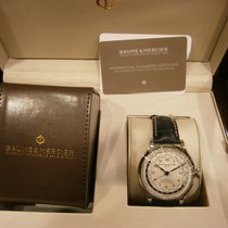 Baume & Mercier Capeland Worldtimer 44 mm.