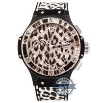 Hublot Big Bang Snow Leopard Chronograph Limited Edition...