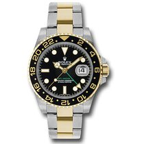 Rolex GMT Master II Steel and Gold