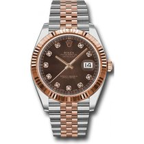 Rolex Datejust 41mm Stainless Steel and Pink Gold 126331...