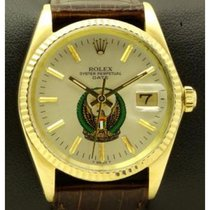 Rolex | Date Vintage, 18 Kt Yellow Gold,united Arab Emirates Dial