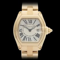 Cartier Roadster 18k Yellow Gold Ladies 2676 or W62018Y5 - W3885