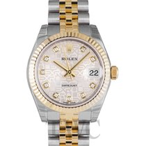 Rolex Datejust Lady 31 Champagne Diamond - 178273