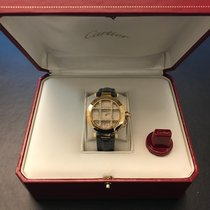Cartier PASHA GOLD GG/YG mit Diamanten Grid, with grid set...