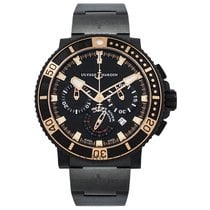 Ulysse Nardin Marine Diver Black Sea Chronograph - 45.8 mm