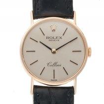 Rolex Cellini Classic 18kt Gelbgold Handaufzug 24mm Ref.3810...