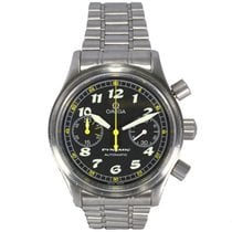 Omega Dynamic Chronograph Stainless Steel Serviced by Omega...