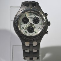 Gruen Swiss Men's Solid Titanium Chronograph