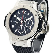 Hublot 301.SX.130.RX Big Bang Chronograph in Steel - on Rubber...