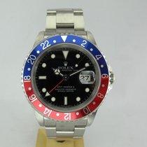 Rolex GMT MASTER II,2 Rectangular Z serial,Pepsi, Red-Blu