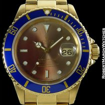 Rolex Submariner 18k Color Change Dial 16618