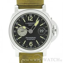 パネライ (Panerai) LUMINOR GMT AUTOMATIC ACCIAIO - 44 MM (NEW)