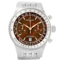 Breitling Montbrillant Legende Bronze Dial Mens Watch A23340...