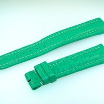 Breitling Band 18mm Green Verde Calf Strap B18-18
