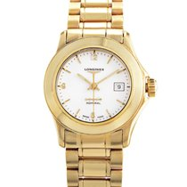 Longines Ladies 18K Yellow Gold Quartz Watch L31046266