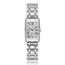 Longines DolceVita Quartz Stainless Steel Ladies Watch L52550716