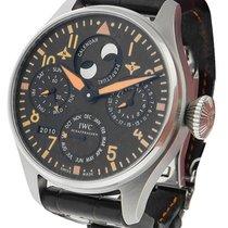 IWC IW502618 Big Pilot Perpetual Calendar Orange - Steel on...