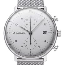 junghans max bill all prices for junghans max bill watches on chrono24. Black Bedroom Furniture Sets. Home Design Ideas