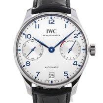 IWC Portugieser Automatic 42 Blue Arabic Numeral